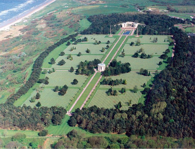 Cimetiere Avion Usa le cimetière - à 3 km du musée - musée mémorial d'omaha beachmusée