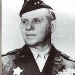 Général Clarence HUEBNER Commandant de la 1ère division d'infanterie US, (a débarqué à Omaha le 6 juin 1944).