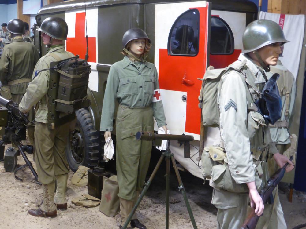Ambulance américaine WWII Normandie