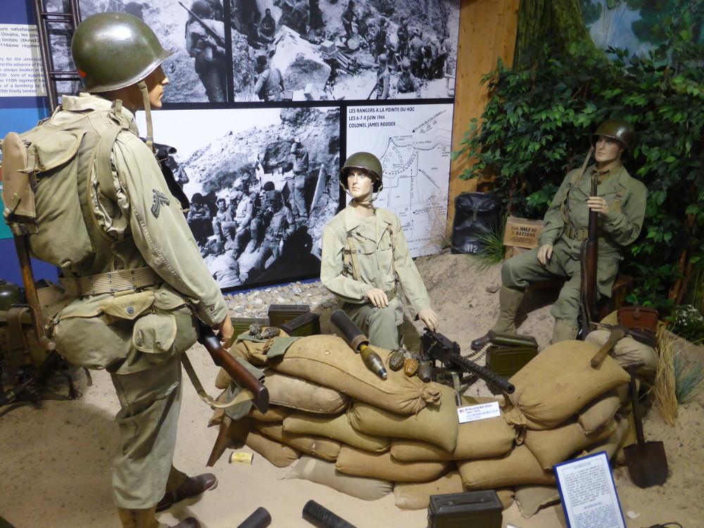 Pointe du Hoc Rangers USA WWII