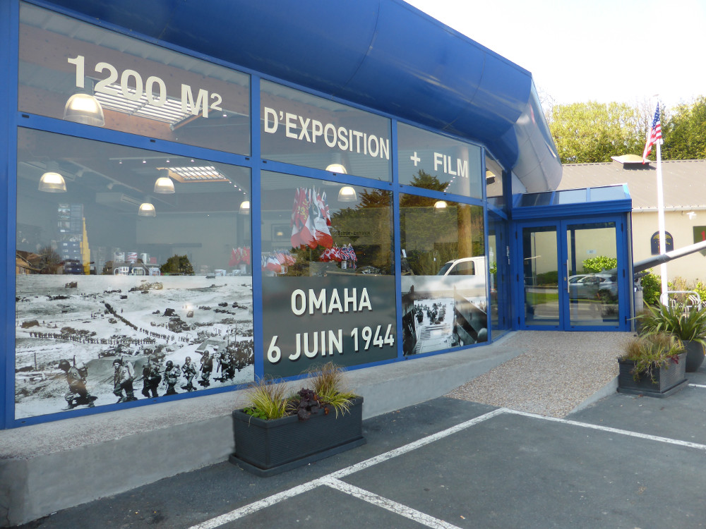 Entrée Musée Mémorial Omaha Beach